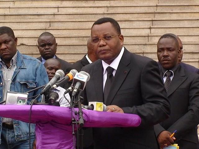 Jean-Claude Gakosso, le ministre congolais des Affaires étrangère.