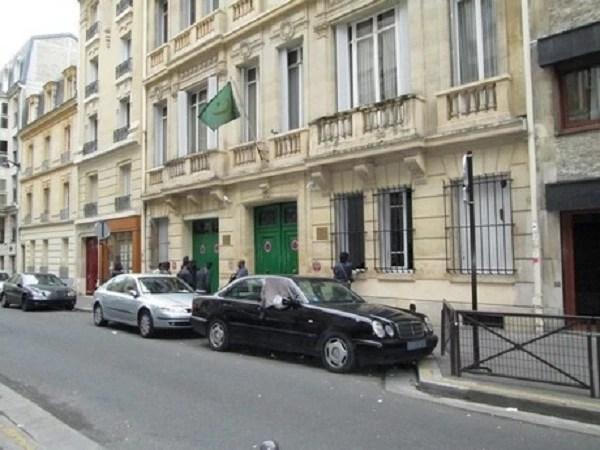 L'ambassade de Mauritanie en France