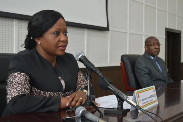 Jacqueline Lidia MIKOLO, ministre de la santé et des populations au Congo
