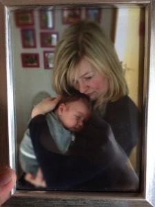 Bubba Ray und ich. Er ist auf dem Bild 8 Wochen alt, das ist nun 2,5 Jahre her.