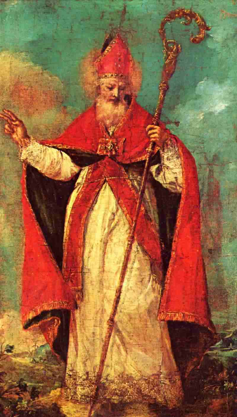 Segnender Heiliger Nicolaus Bilder Gemlde Und