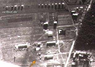 Bild 1: brit. Luftbild, Oktober 1944