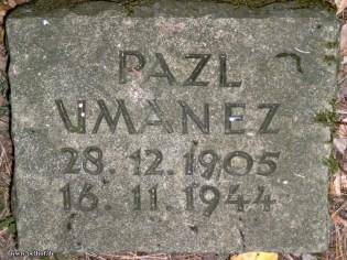 Bild 2: Grabstein auf dem Jüdischen Friedhof Bleckede, 2004