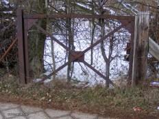 Bild 8: ehemaliges Tor aus dem Oelhof in der Industriestr., 2014, Foto Bendler.