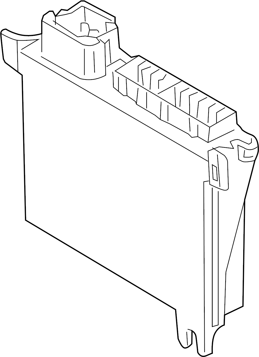 Mercury Grand Marquis Module Entry Control Receiver