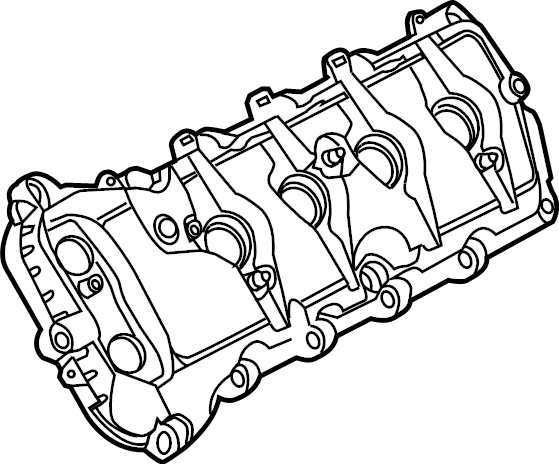 Ford F 150 Engine Valve Cover 5 0 Liter F150 Left
