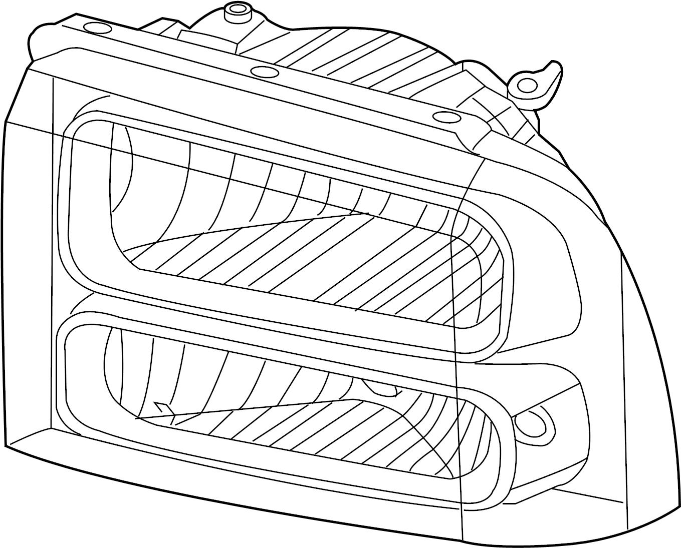 Ford F 250 Super Duty Headlight