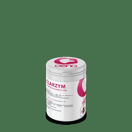 Clarzym è un enzima enzima pectolitico per la chiarifica dei mosti, accellera la chiarifica dei mosti anche a basso pH e concentrazione di pectine elevata.