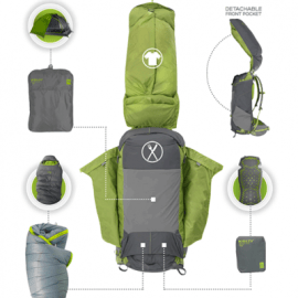 PK50 Backpack Rental - details