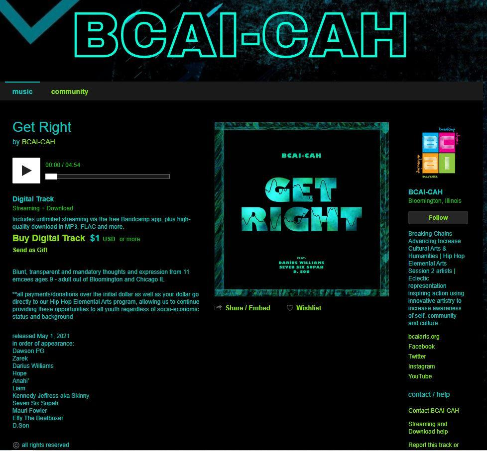 BCAI on Bandcamp