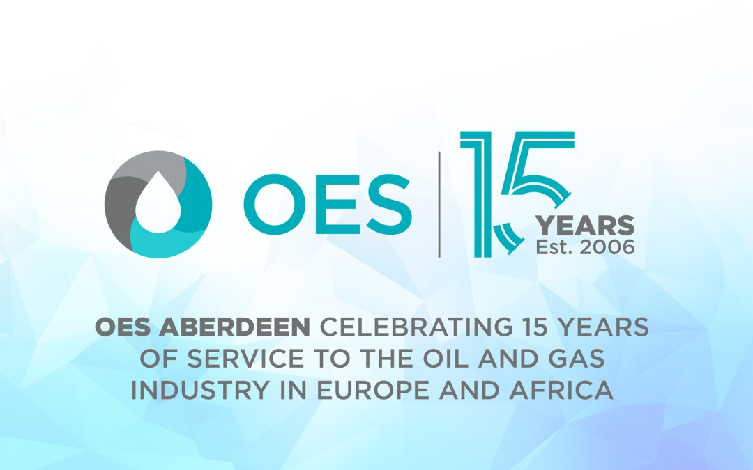OES UK celebrates 15 year Anniversary in Aberdeen