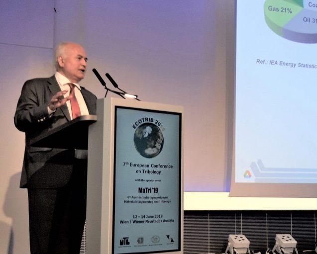 Dr. Ali Erdemir during his plenary talk