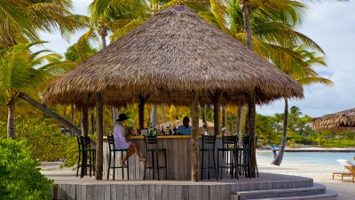 Beach-chic Bar Antigua | Jumby Bay Island Resort
