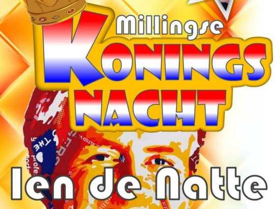 Koningsnacht 2018 in de Millingse Ridderzaal