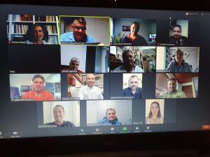 1o διαδικτυακό Διοικητικό Συμβούλιο της Ομοσπονδίας Επαγγελματοβιοτεχνών Ζαχαροπλαστών Ελλάδος