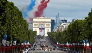 Forze armate francesi in parata
