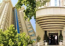 Il palazzo di Teheran dove alloggiava Sylvia Brunner