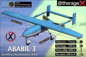 drone iraniano Ababil 3