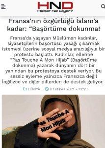 I Media turchi sostengono l'Islamismo in Francia