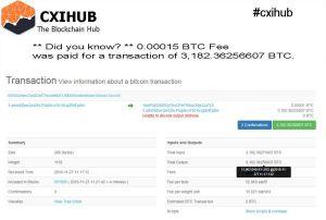 Ricevuta di transazione moneta virtuale
