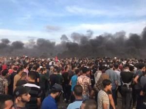 """Manifestazione """"pacifica dei gazani"""""""