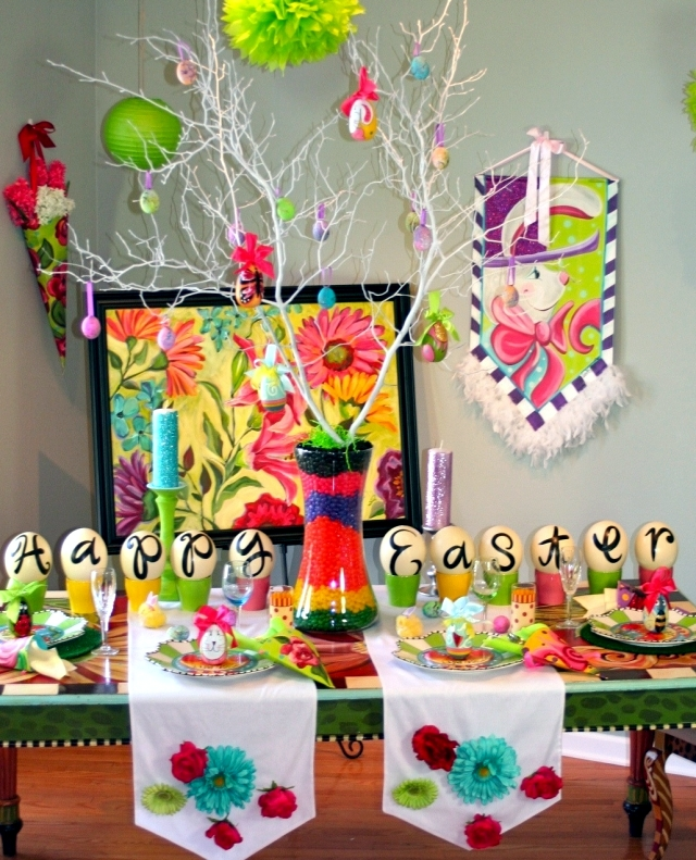 Creative Easter Table Decoration Ideas To Inspire You 4 Pieces With