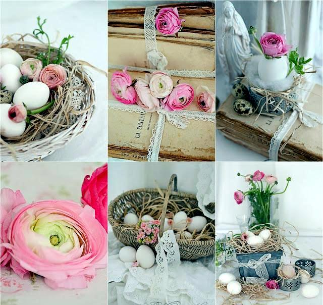 21 beautiful Easter decorating ideas and country style Shabby Chic     Shabby Chic