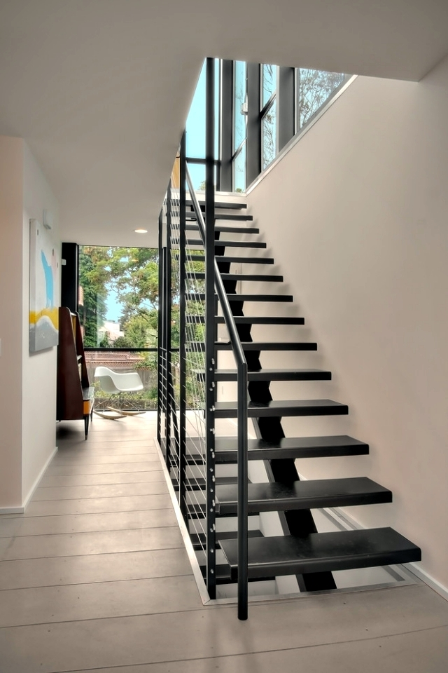 The Modern Steel Staircase Inside And Outside For Amazing Design | Modern Staircase Design Outside Home | Msmedia | Stair Case | Spiral Staircase | Decorative Wrought | Iron Railings