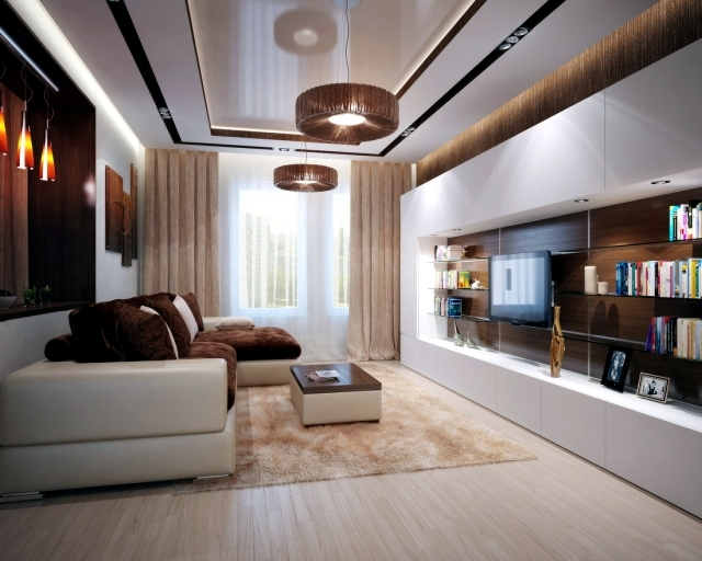 Living room interior design ideas     brown is modern   Interior     Living room