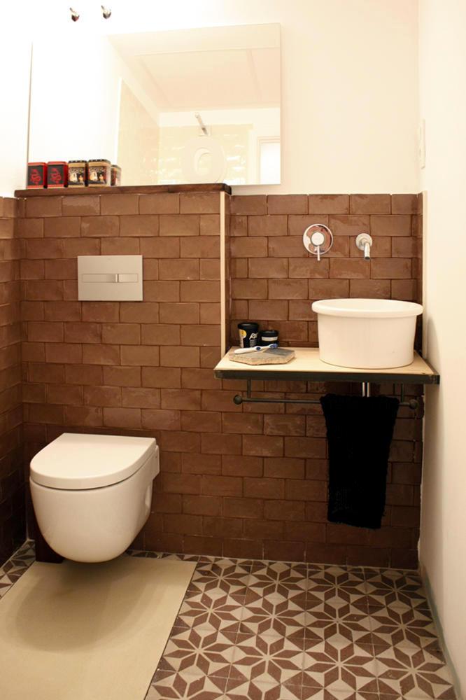 brown bathroom interior design ideas