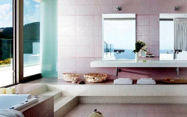 Modern Bathroom Tile Ideas For Bathroom Colors 20