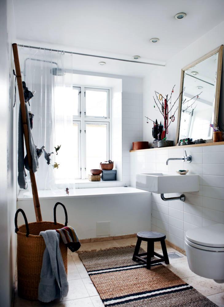 Natural Materials In The Bathroom Interior Design Ideas