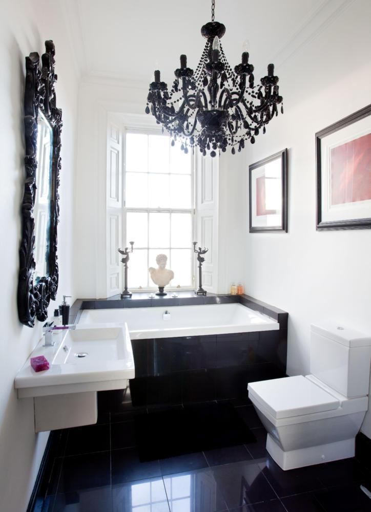Modern Black And White Baroque Interior Design Ideas