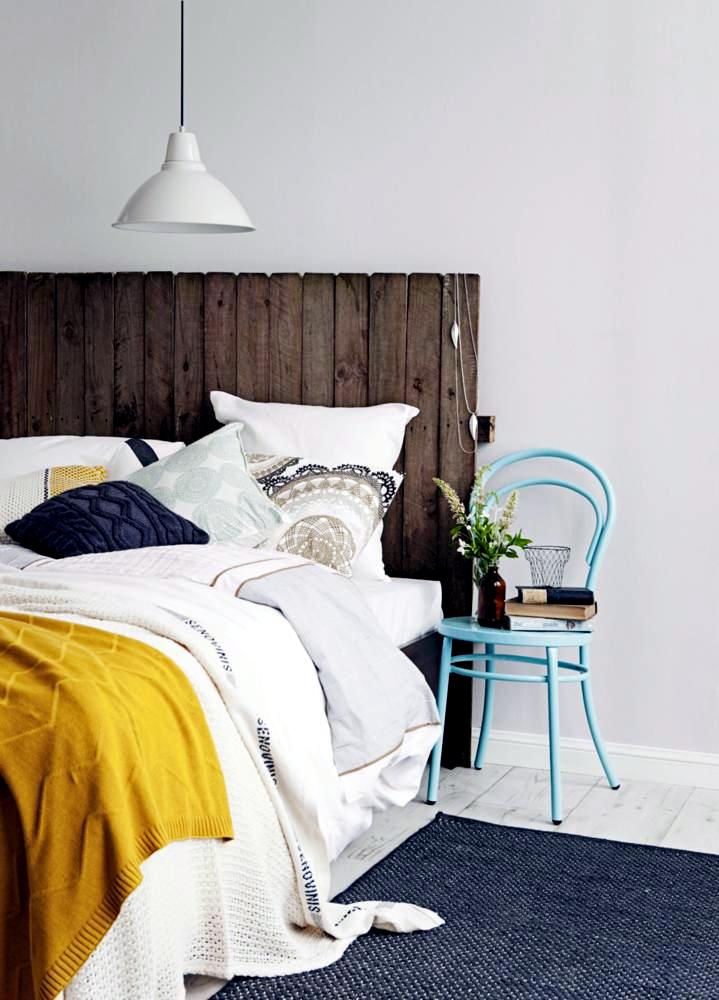DIY Idea Rustic Bed Head Interior Design Ideas Ofdesign