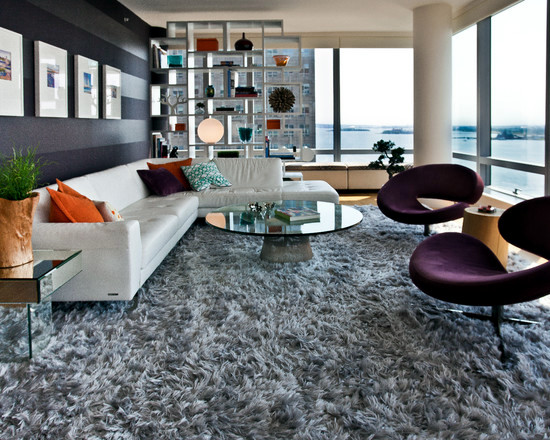 Shaggy Shaggy carpet  120 and stylish ideas for living room     Establish a living room   one with a high pile shaggy carpet The carpet is  soft  not without reason very much in trend   thus earning the living room  rustic