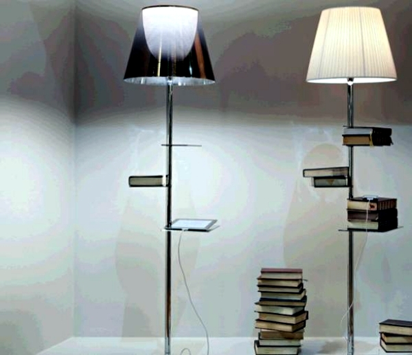 stainless steel lamp by philippe starck