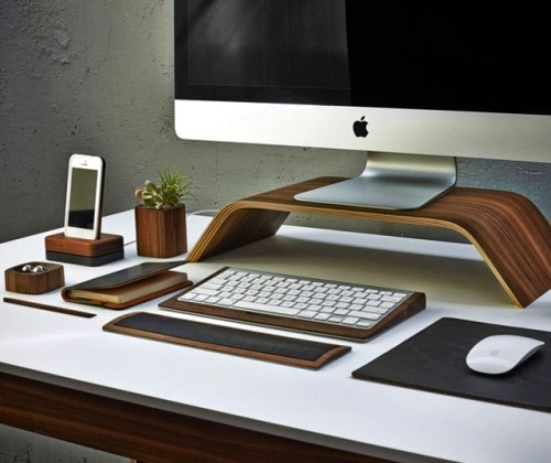desk accessories mouse pad  keyboard tray   Co Wood   Interior     desk accessories mouse pad  keyboard tray   Co Wood
