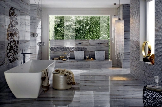 Wall And Floor Tiles Modern And Luxurious Facilities To Assess Their Interior Design Ideas