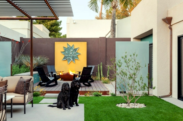 grass mat for balcony and terrace