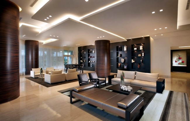 33 Examples Of Modern Living Room Ceiling Design And Life Part 34