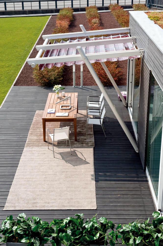 modern patio awning interior design