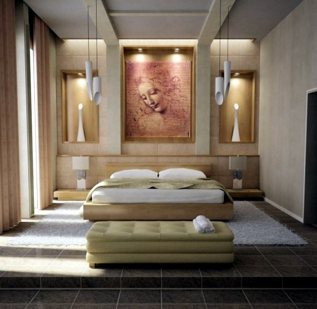 100 interior design ideas for the bedroom in different ...