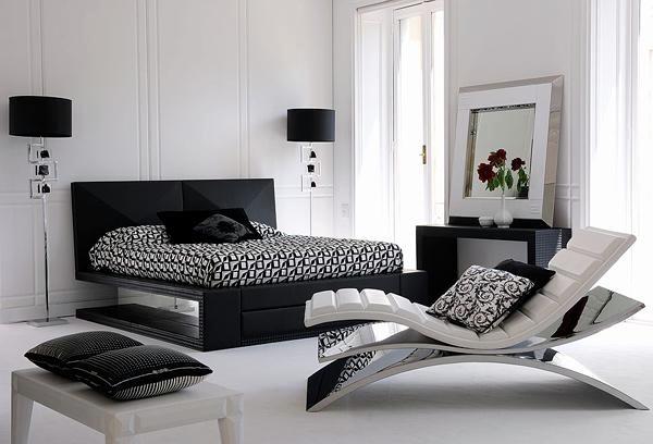 15 Modern Bedroom Designs In Black And White Color Palette Interior Design Ideas Ofdesign