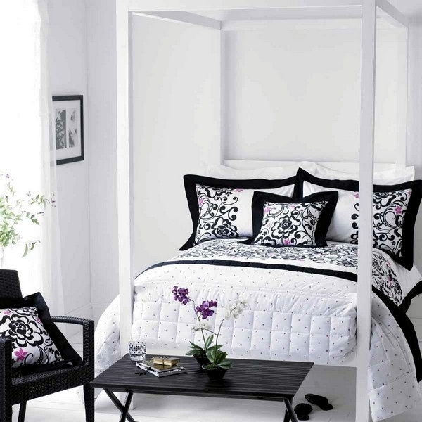 15 modern bedroom designs in black and white color palette ...