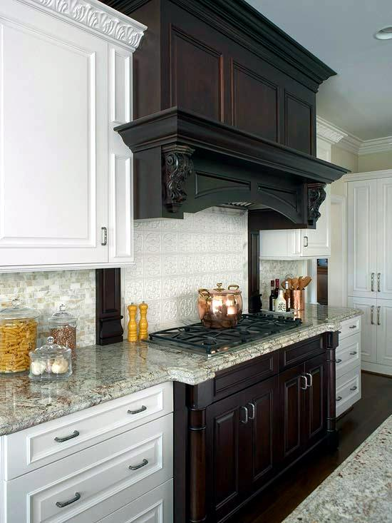 30 Ideas For Kitchen Design Back Wall Tiles Glass Or