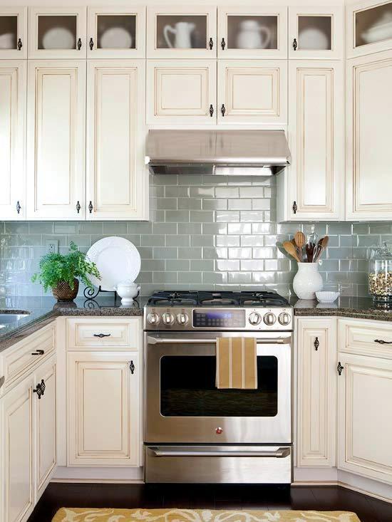 Tiles Kitchen Design Green