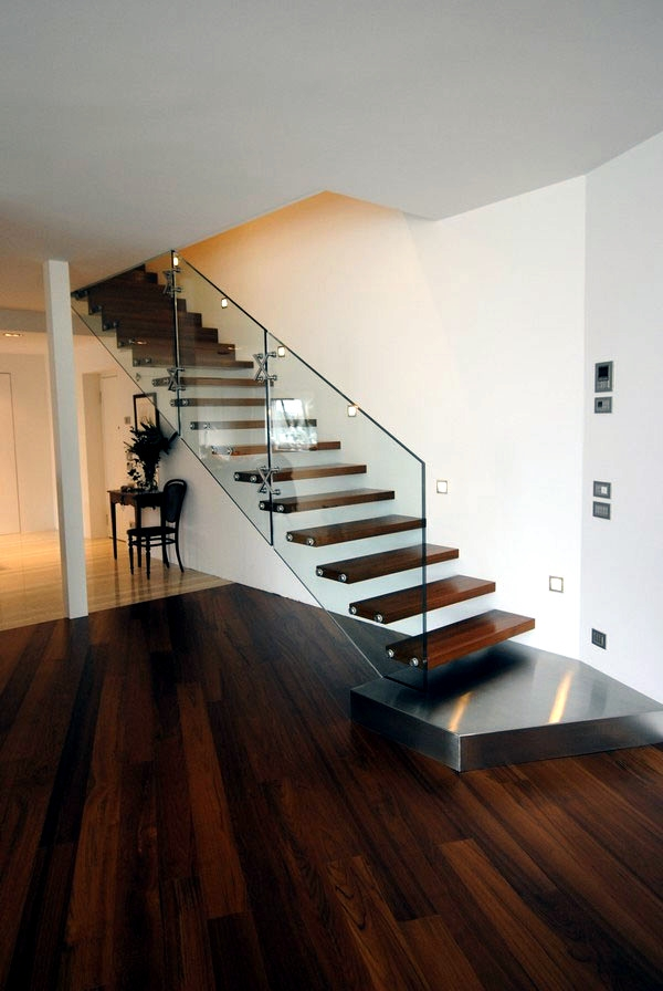 99 Modern Staircases Designs – Absolute Eye Catcher In The Living | Duplex House Staircase Wall Design | Contemporary | Textured | Apartment Duplex | Fancy | Stair Wall Paint