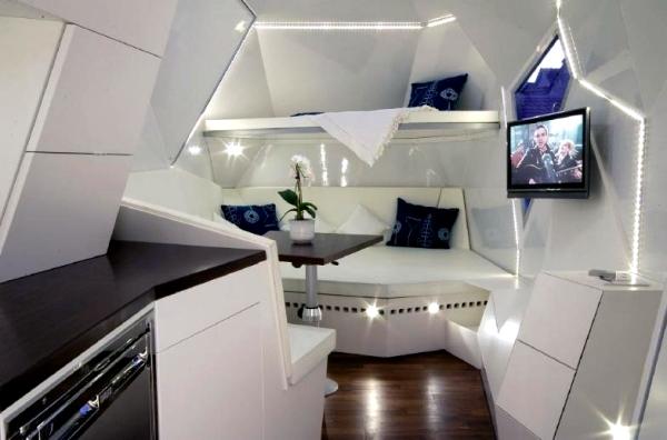Cool High Tech Campers Or The Future Of Camping Holidays