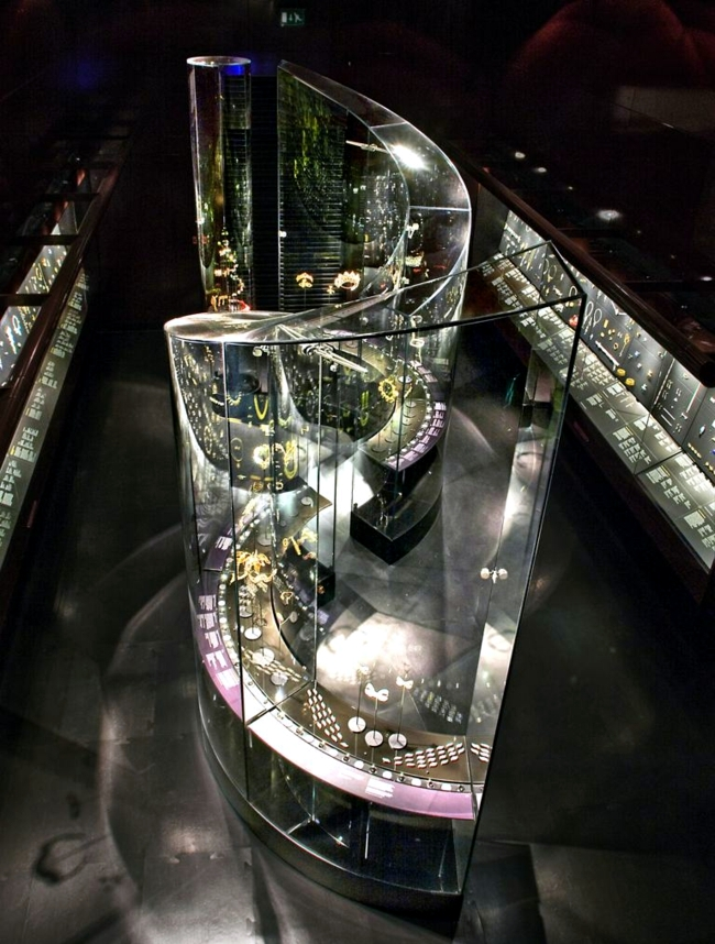 Futuristic Jewelry Gallery Houses Over 3 500 Pieces Of