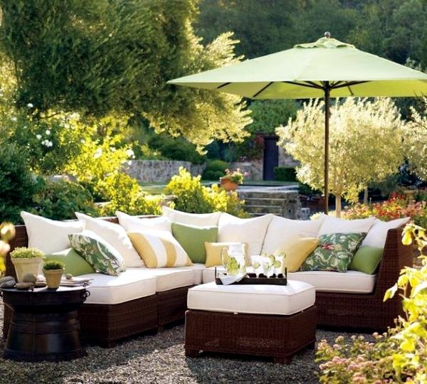 Garden Furniture Made Of Wicker 12 Beautiful Ideas For Outdoor Spaces Interior Design Ideas Ofdesign